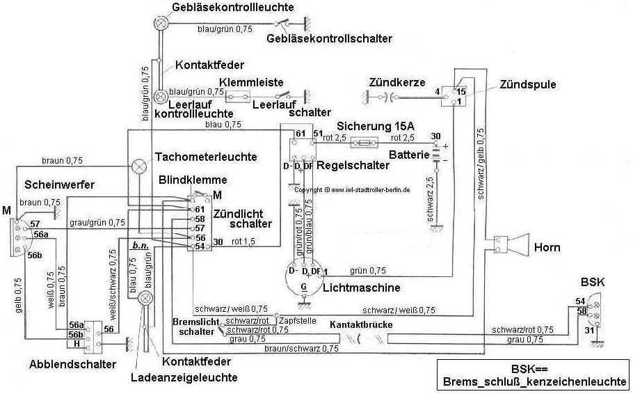 SR 59 Berlin - Schaltbild